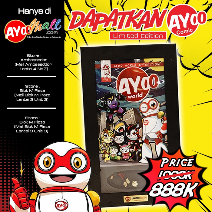 Comic Ayoo World #1st Edition - SPECIAL LIMITED EDITION